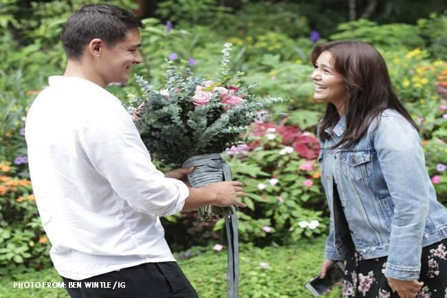 Iza Calzado and boyfriend