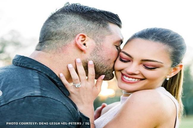 2017 Miss Universe Demi-Leigh Nel-Peters engagement