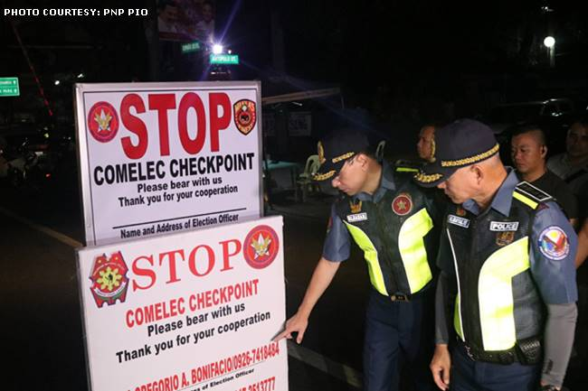JAYMARK- COMELEC CHECKPOINT