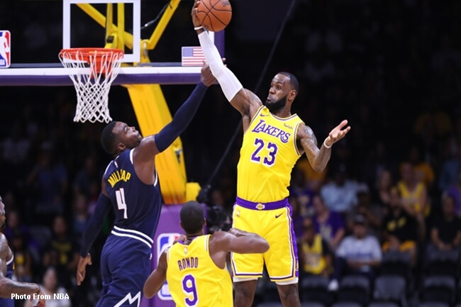 LEBRON LAKERS