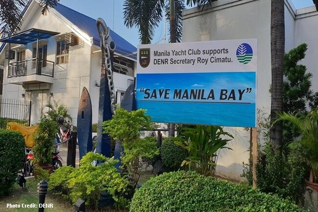 MANILA BAY DENR PHOTO