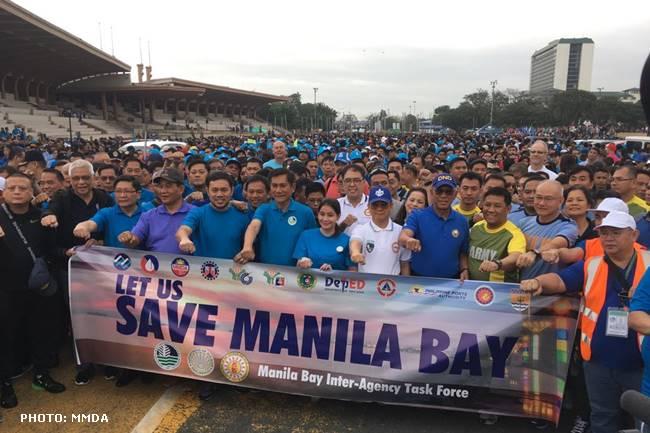 Manila bay rehab project