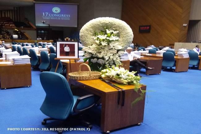 memorial service for rep. batocabe