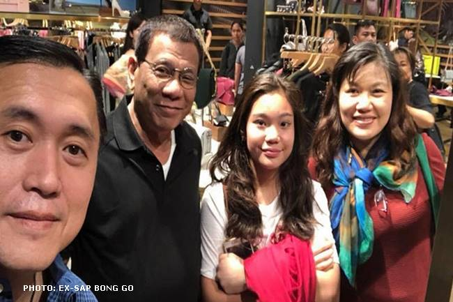Duterte in Hong Kong