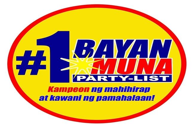 BAYAN MUNA PARTYLIST