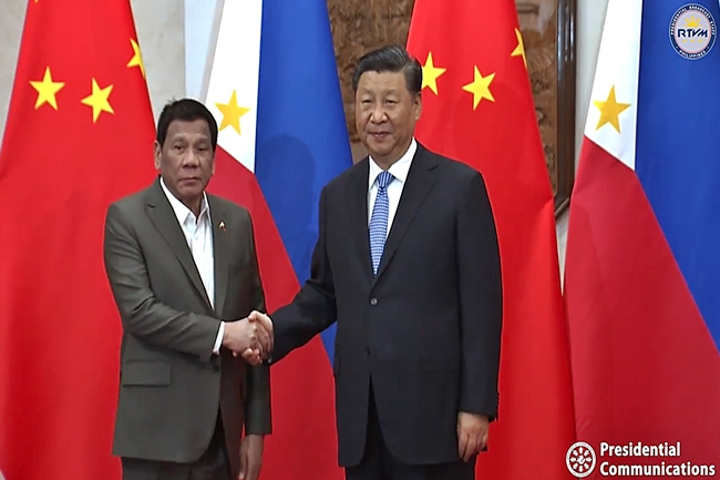 DUTERTE-XIJINPING-CHINA