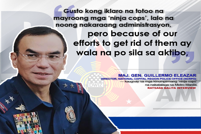 GUILLOR ELEAZAR ON NINJA COPS