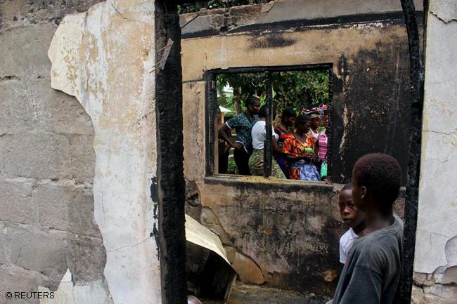 LIBERIA FIRE