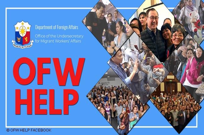 OFW HELP DFA