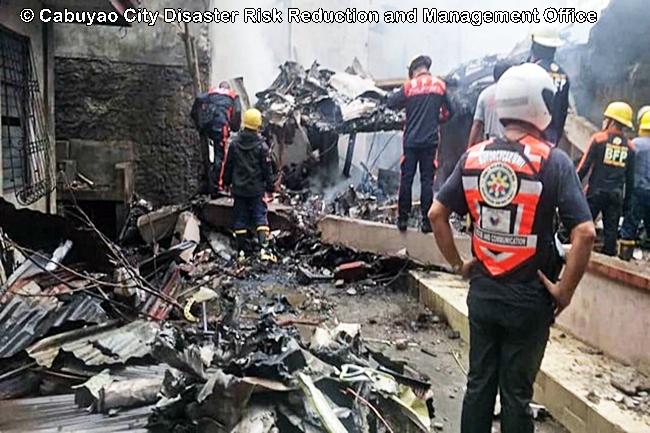 Plane crash Calamba City Sept 1