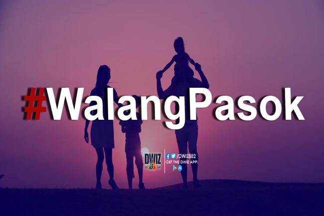walang pasok family day