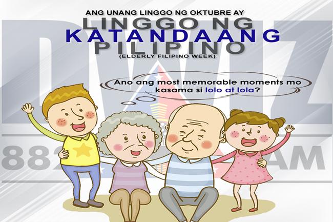 ELDERLY FILIPINO MONTH