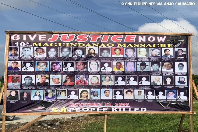 10th anniv maguindanao massacre