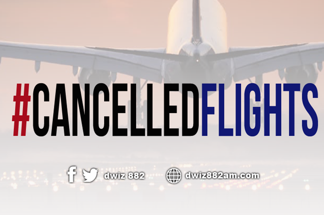 CANCELLED FLIGHTS UPDATED