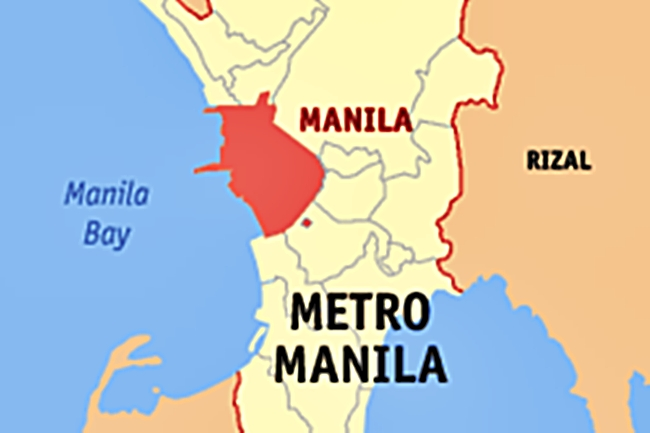 MANILA MAYNILA MAP