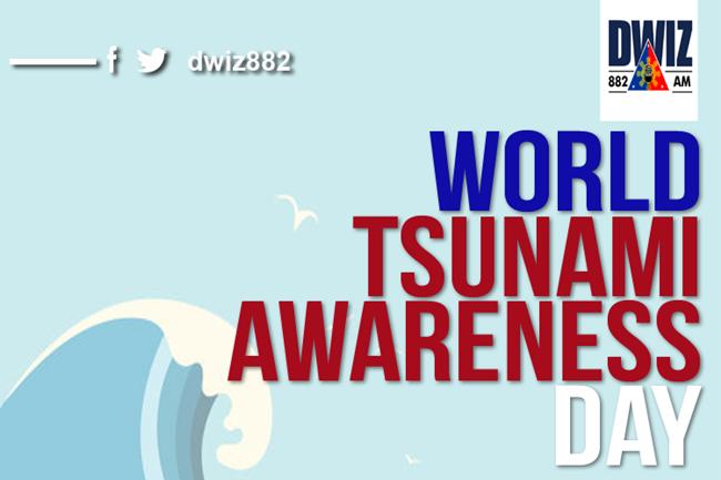 TSUNAMI AWARENESS DAY