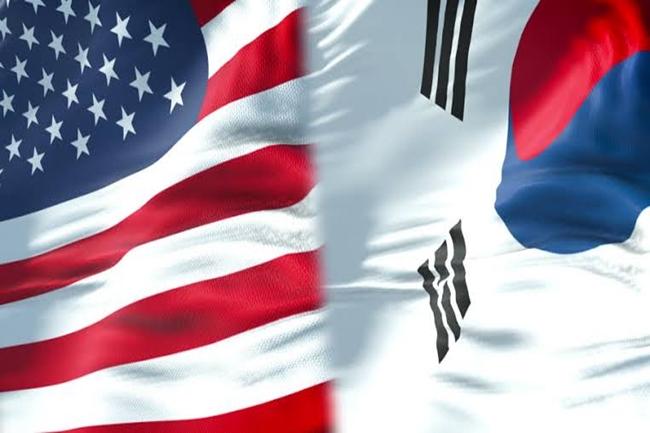 US AMERICA SOUTH KOREA FLAG