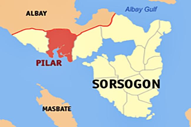 PILAR SORSOGON MAP