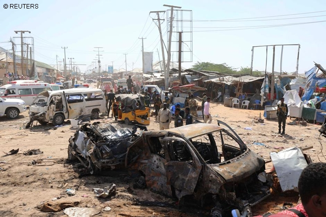 SOMALI CAPITAL BOMBING