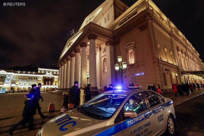 MOSCOW BOMB THREAT