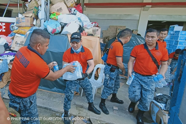 PHILIPPINE COAST GUARD RELIEF OPERATION