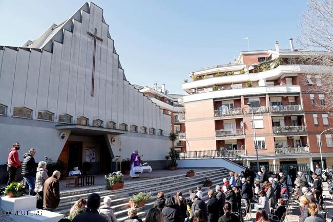 ITALY ROME CHURCH