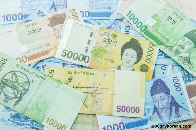Korean-Won-Money