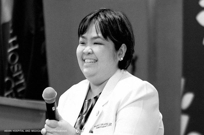 DR. MARY GRACE LIM- COVID