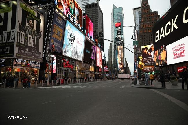 Coronavirus precautions in New York City