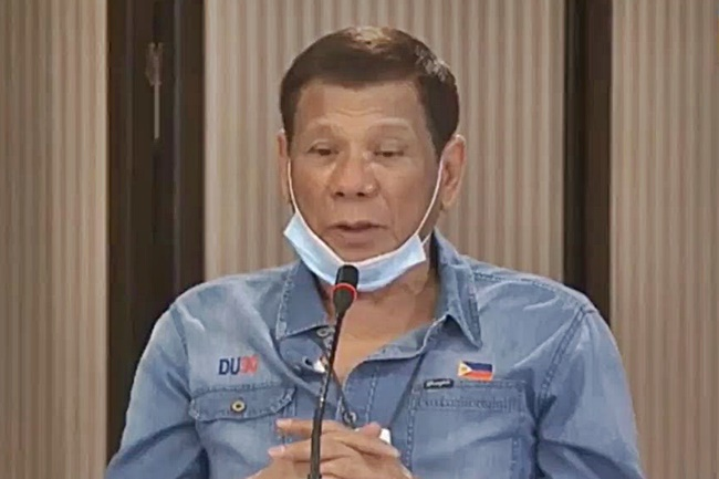 RODRIGO DUTERTE APR 13