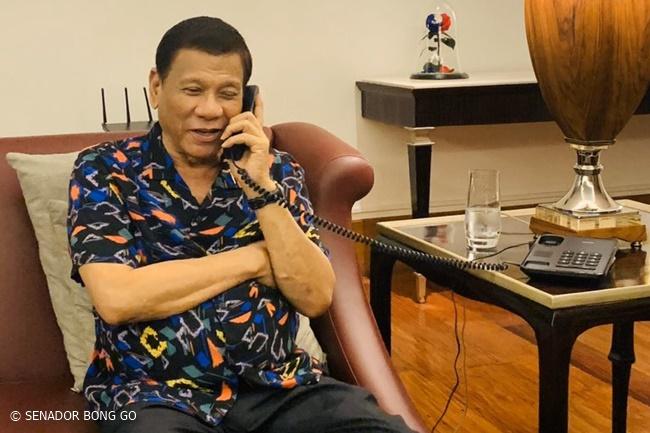 RODRIGO DUTERTE DONALD TRUMP PHONE CALL