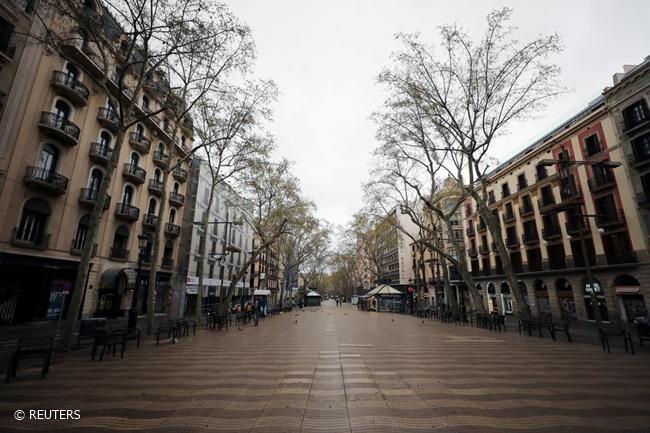 SPAIN LOCKDOWN COVID19