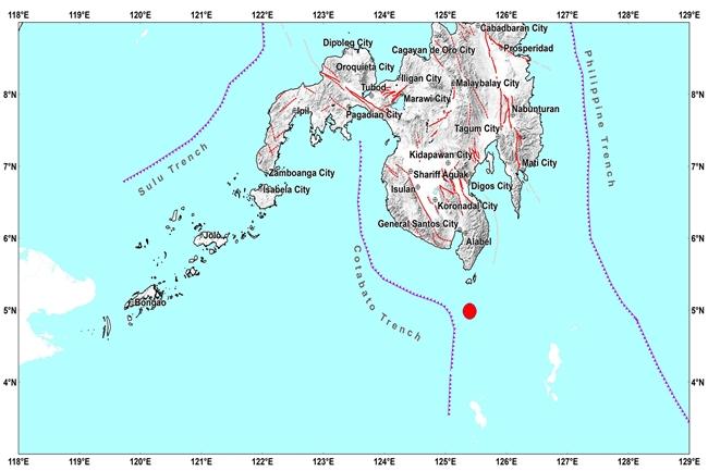 lindol davao occidental may 27