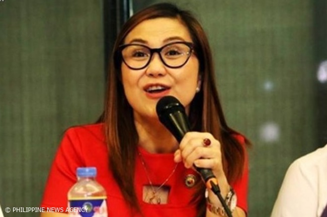 Bagong Henerasyon Party-list Representative Bernadette Herrera