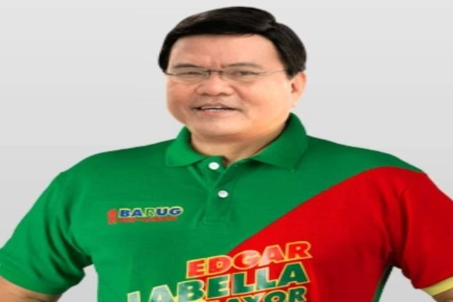 CEBU CITY MAYOR EDGARDO LABELLA