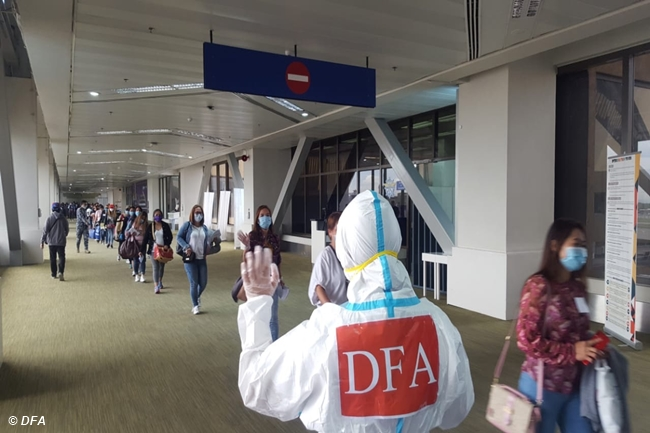 DFA OFW COVID REPATRIATION