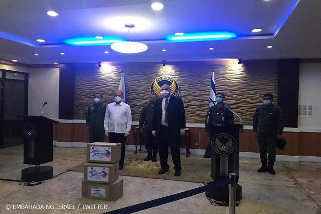ISRAEL DND COVID DONATION