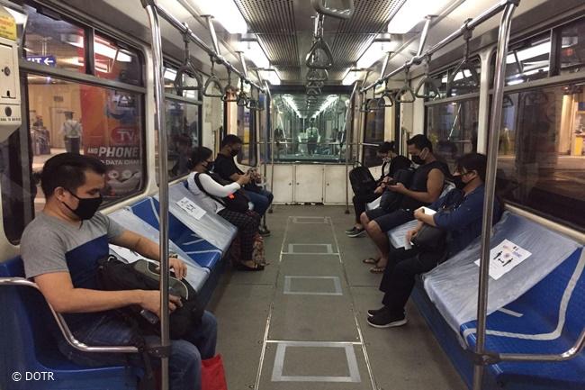 MRT3 GCQ METRO MANILA