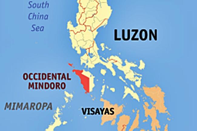 OCCIDENTAL MINDORO MAP