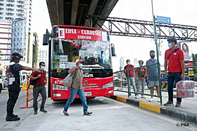 NEW BUS STOPS EDSA