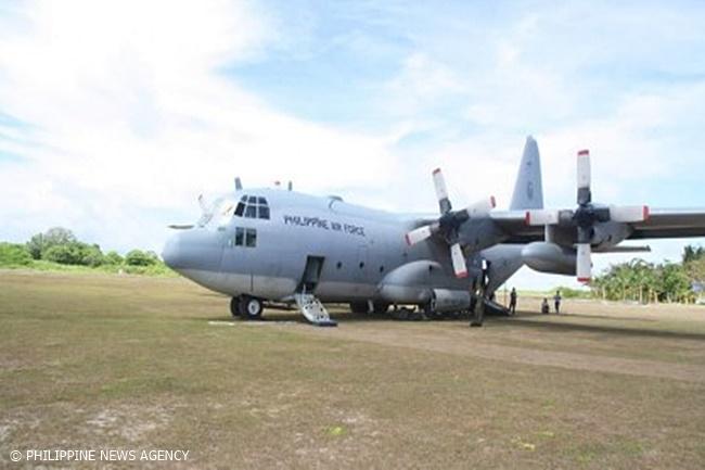 PHILIPPINE AIR FORCE C-130 PLANE