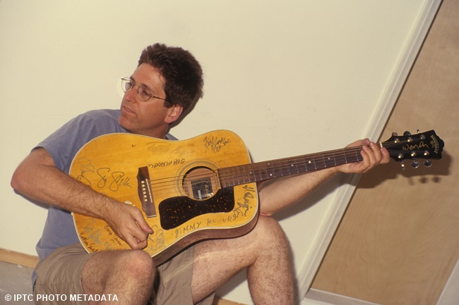 Guitarist Jack Sherman Poses For A Portrait