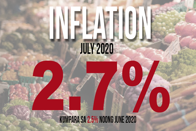 JULY INFLATION