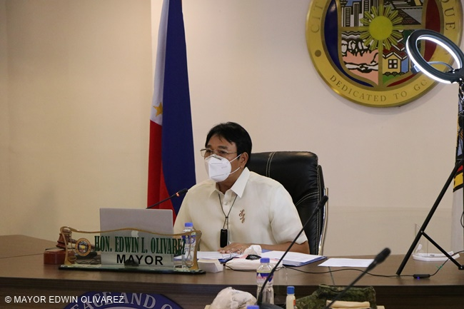 MAYOR EDWIN OLIVAREZ