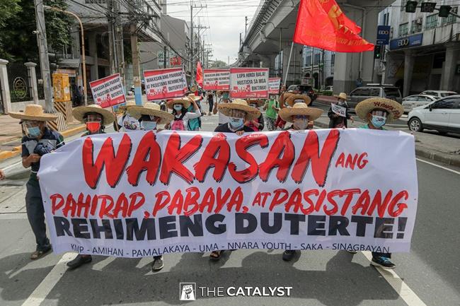 MENDIOLA PROTEST FARMERS