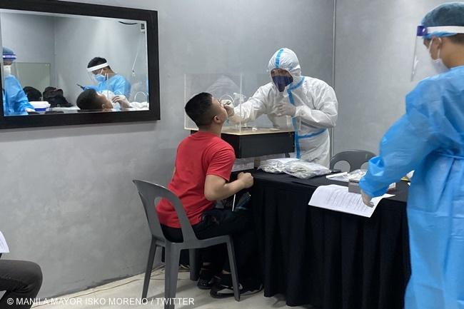 SWAB TESTING MANILA