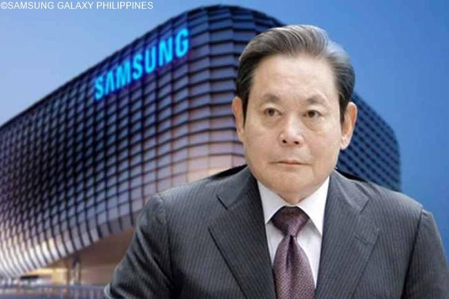 Samsung Electronics Chairman Lee Kun Hee