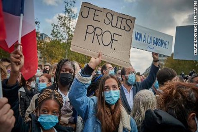 france protest