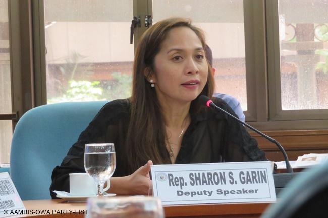 AAMBIS OWA Party-list Representative Sharon Garin
