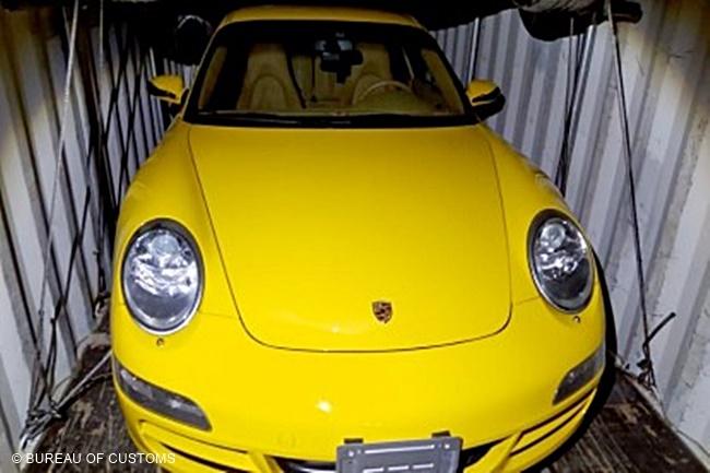 BUREAU OF CUSTOMS LUXURY CARS